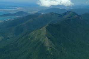 Foto aérea da Serra do Cambirela